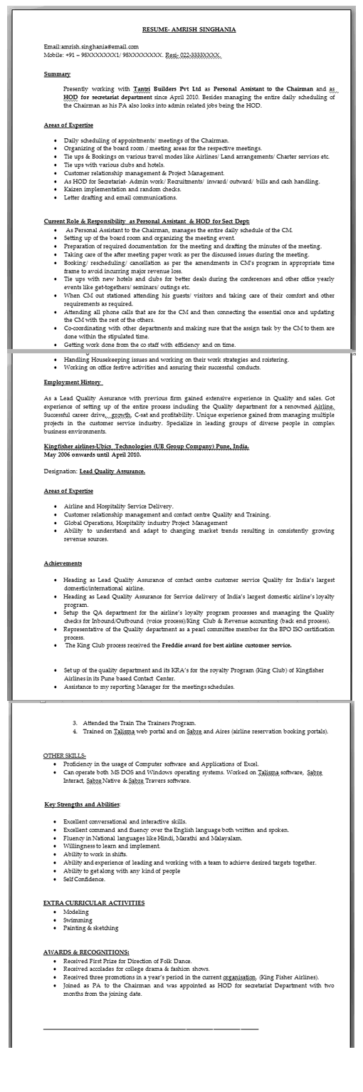 Professional Cv Writing In Mumbai Resume Writing Service In Mumbai